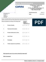 Questionnaire 20Report