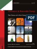 Alternative and Renewable Energy