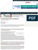 The Deals That Dreams Are Made Of | WritersDigest.com
