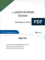 3. Simulación en Excel