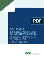 Acceso Universal al Agua y Saneamiento. Equidad e Inclusión Social en America Latina.pdf