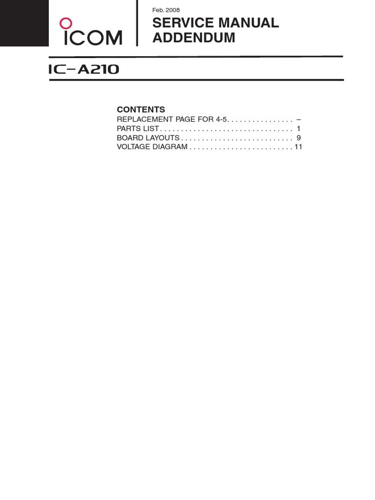 Icom A210 Wiring Diagram - Wiring Diagram M6 Icom A Wiring Diagram on