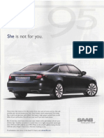 Saab She is Not for You Ad Autoweek 8