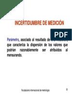 Diapositiva Incertidumbre de Medición
