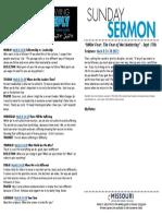 Growth Guide Week of September 18