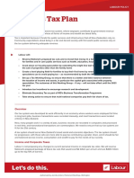 Labour Tax Policy Factsheet