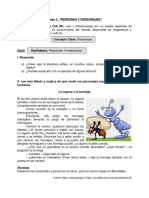 Guía de Apoyo Lenguaje 5º Básico - SEPTIEMBRE