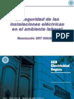 Guía de Aplicación de Verificación de Las Instalaciones Eléctricas (Inicial y Periódicas) y Su Mantenimiento