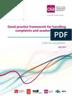 Good Practice Framework Consultation