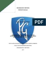 Organización y Metodos Proyecto de Aula