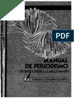 Manual de Periodismo Vicente Lenero y Marín