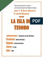 Trabajo de La Isla Del Tesoro