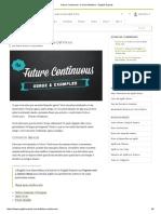 Future Continuous_ O Guia Definitivo - English Experts