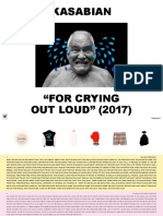 Digital Booklet - For Crying Out Loud