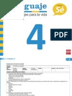 PlanificacionesLenguaje4U4