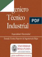 Ingeniero Tecnico Industrial Esp Electricidad