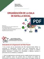 Organizacion de La Sala de Batalla Social