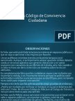 Presentacion Ley 1801 de 2016 Convivencia Ciudadana