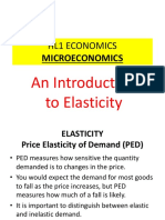Introduction to Elasticity-short Version (1)