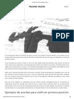 Acordes Para Violín _ Paloma Valeva