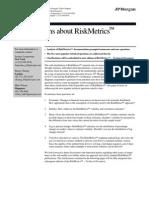 Risk Metrics