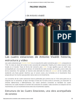 Las Cuatro Estaciones de Antonio Vivaldi _ Paloma Valeva