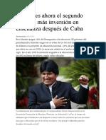 Bolivia y la educación