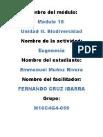 MuñozRivera Emmanuel M16S3 Eugenesia