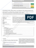 Technological Trends, Global Market, And Challenges of Bio-ethanol Production-R1