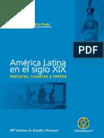 América Latina en El Siglo XIX Texturas, Cuadros y Textos - Coelho Prado, Maria Ligia