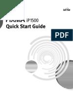 IP1500 Manual