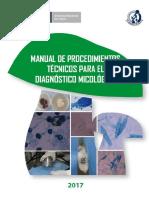 Manual de Procedimientos Tecnicos Para El Diagnostico Micologico.final