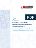 Informe PPR Endes 2017-I