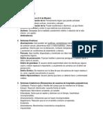Esquizofrenia-Farmacoterapia y Definiciones