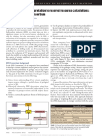Relating Seismic Interpretation to Reserve Resource Calculations