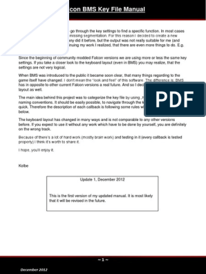 Falcon BMS Keyfile Manual pdf   Callback (Computer