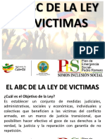 ABC de La Ley de Victimas