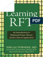 Niklas Törneke-Learning RFT_ an Introduction to Relational Frame Theory and Its Clinical Application-Context Press (2010)