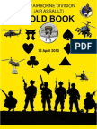 101st Div Gold Book 2010