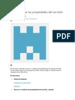 PROPIEDADES SQL