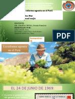 Diapositivas de Reforma Agraria