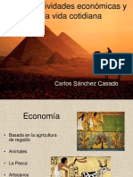 Actividades Economicas Antiguo Egipto