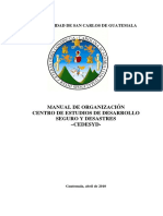 Manual de Organizacion Cedesyd Version Final