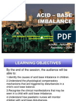 Acid Base , AGDA, CPD Ped.-2016