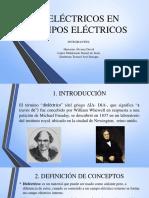 Dieléctricos en Campos Eléctricos