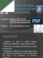 Obtencion de Fenol (PRAC_7) Laboratorio Organica Industrial