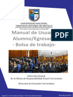 Manual de Usuario Blosa de Trabajo