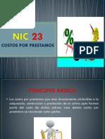 NIC 23 Y NIC 39SOL