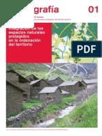 Integración de Los Espacios Naturales y Protegidos en La Ordenación Del Territorio