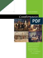 Cuestionario de Historia.